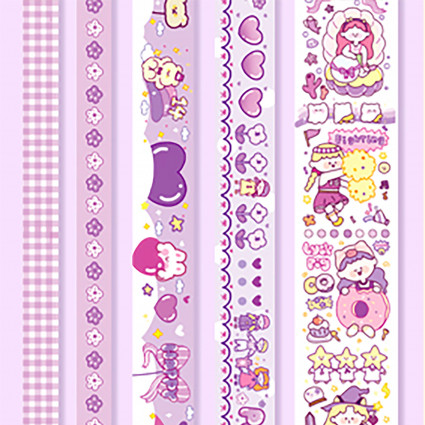 Set de 5 Washi Tape