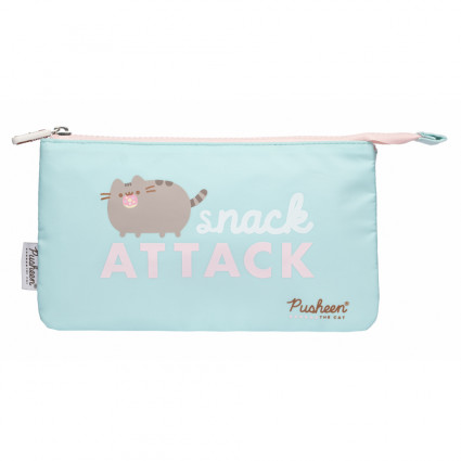 Pushed pencil case
