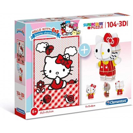Puzzle Hello Kitty 3D