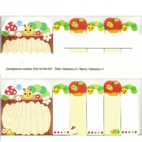 Post it gusanos