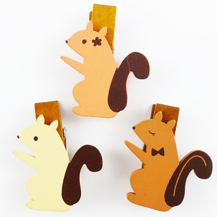 Squirrel clip set