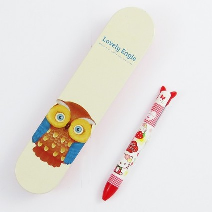 Lovely eagle pencil case
