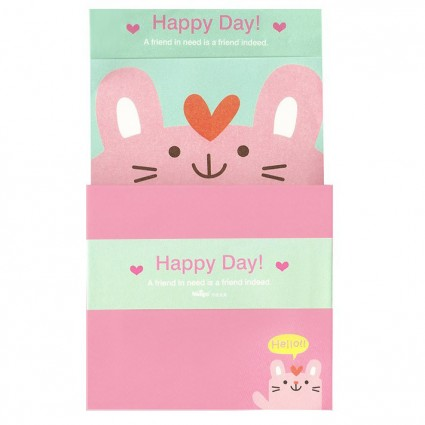 Conjunto carta Happy day
