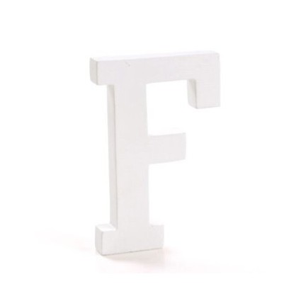 "Wooden letter ""F"""