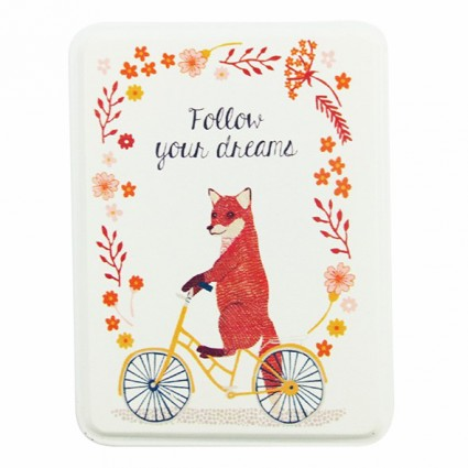 Follow your dreams tin box