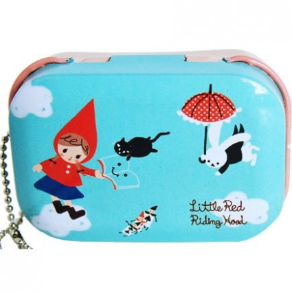 Red riding hood tin box
