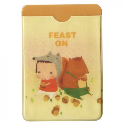 Funda para tarjetas Feast on