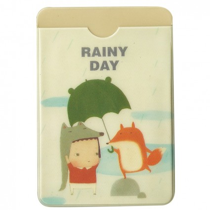 Rainy day card holder