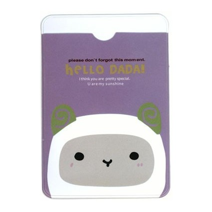 Hello Dadá card holder
