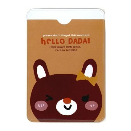 Hello Dadá card holder mod.2