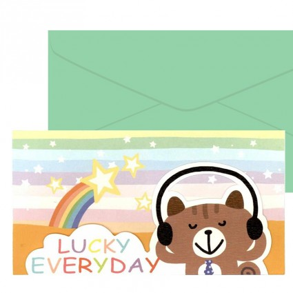 Lucky everyday card