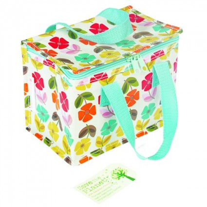 Summer flowers lunch bag