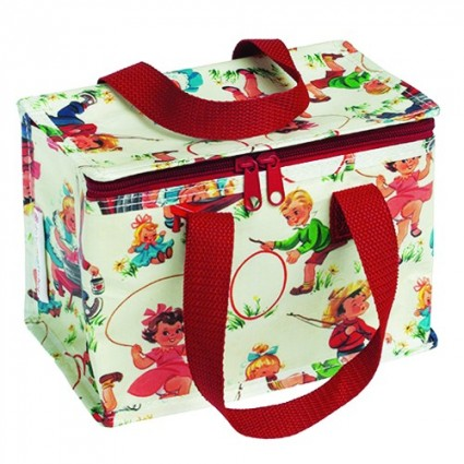 Retro children lunch bag
