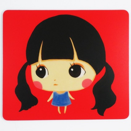 Doll mouse pad