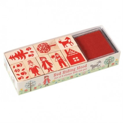 Red riding hood stamp set