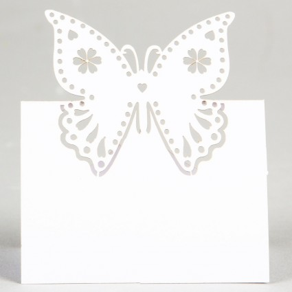 Butterfly place card set