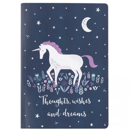 Starlight unicorn notebook