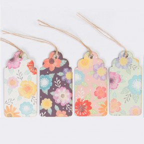 Set of 15 scandi bird tags