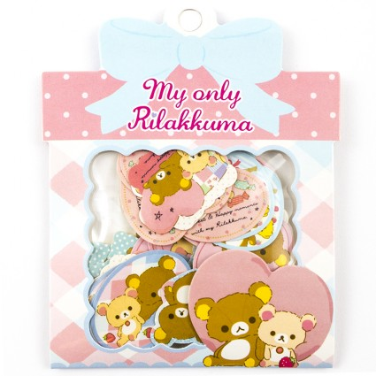Rilakkuma sticker set