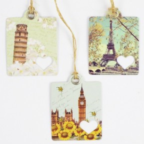 Woodland Animals Tags set