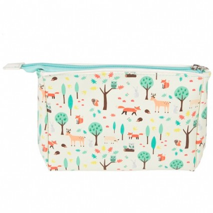 Whimsical Woodland toiletry bag