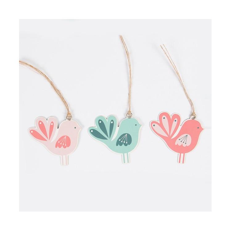Retro wedding tags