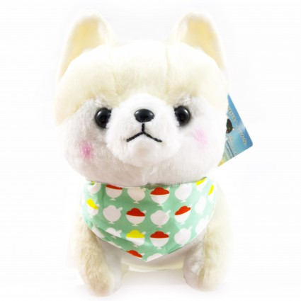 Akita dog plush toy