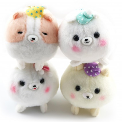 Pomeranian dog plush toy