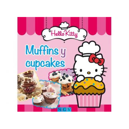 LIBRO HELLO KITTY MUFFINS Y CUPCAKES
