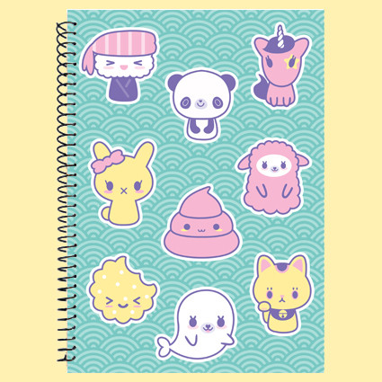 Kawaii friends notebook