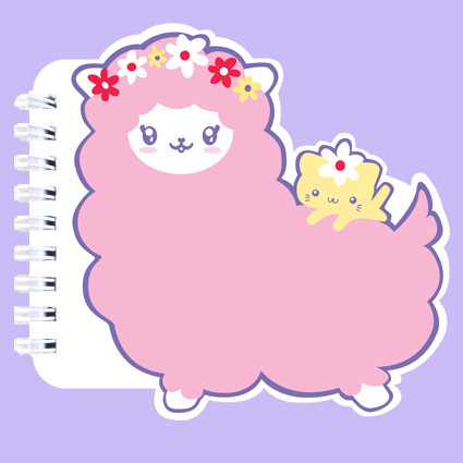 Alpaca note book