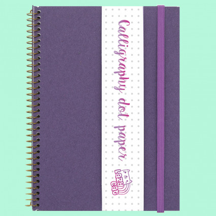 Calligraphy dot paper notebook