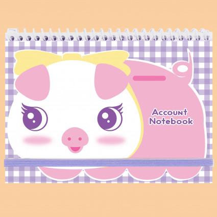 Pig account notebook