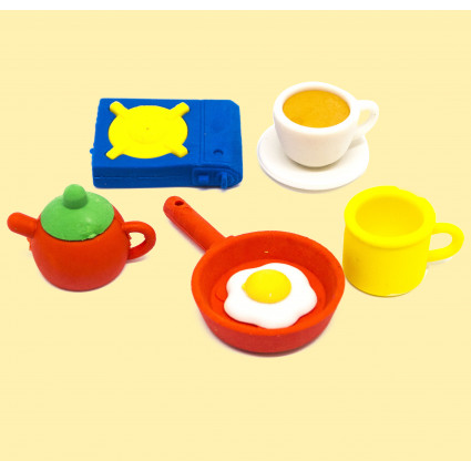 Kitchen eraser set