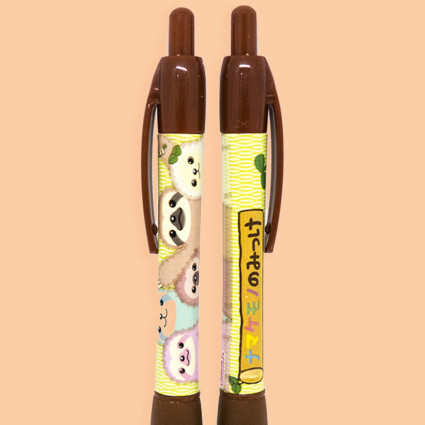 Brown sloth pen