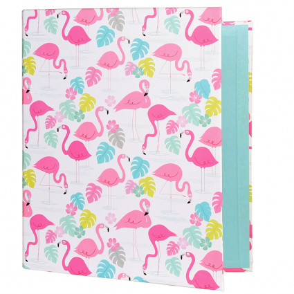 Flamingo bay ring binder