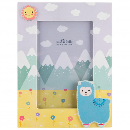 Alpaca photo frame