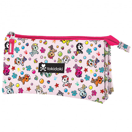 Tokidoki triple pencil case