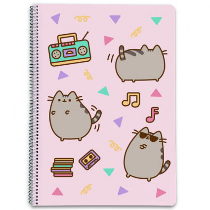 A4 Pusheen notebook