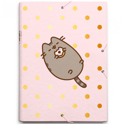 Pusheen file folder