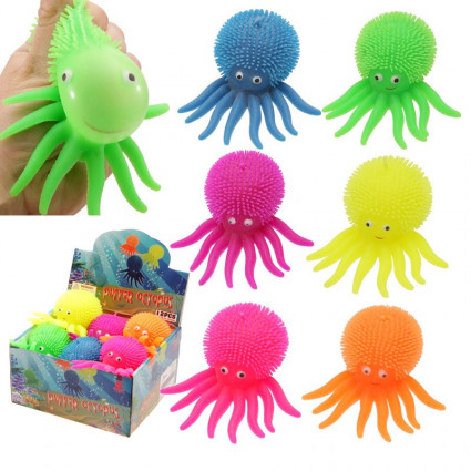 Octopus led light squishy