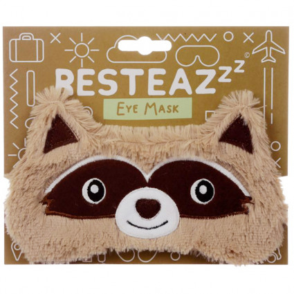 Raccoon sleep mask