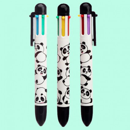 Panda 5 colors pen