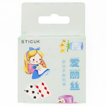 Alice sticker set