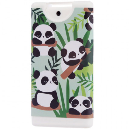 Spray hidroalcohólico rellenable panda